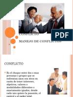 Clase 12 2014 Conflicto Manejo
