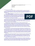 Mugshot Letter