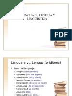 Lenguaje%2c Lengya y Lenguística Class 1