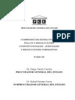 Boletin Compendio Extracto de Fallos y Resoluciones Tomo3