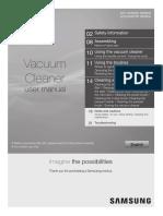 Vacuum Cleaner user manual