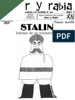 """Revista Amor y Rabia Nr. 25 """"Stalin"""""""