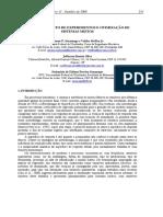 Artigo - Planejamento de Experimentos e Otimização de Sistemas Mistos