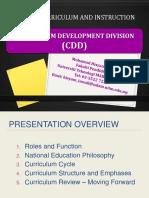 curriculum development division moe