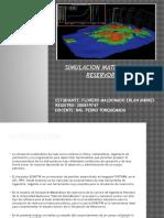 Simulacion Matematica de Reservorios EAFM