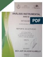 ACTIVIDAD 2 (Caracterización de Instrumental y Equipo de Laboratorio de Análisis)