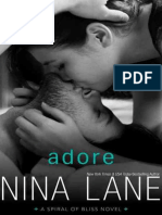 Adore (Spiral of Bliss #4) by Nina Lane