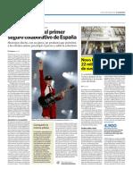 Caser apadrina el primer seguro colaborativo de España