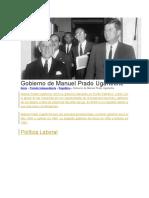 Gobierno de Manuel Prado Ugarteche