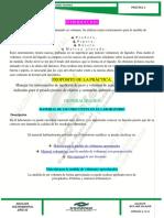 PRÁCTICA 2 (Determina Masa y Volumen Por Diferencia de Pesada)