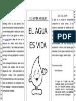 86817279 Triptico Del Agua