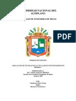 Aplicacion de Tecnicas de Lcc en La Seleccion de Equipos en Mineria