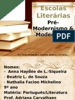 Escolas Literárias