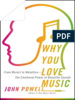 Why You Love Music From Mozart to Metallica -The Emotional Power of Beautiful Sounds