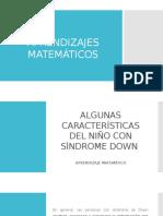 Aprendizajes Matemáticos en Niños Con SD (1)