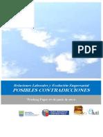 Relaciones Laborales y Evolución Empresarial. POSIBLES CONTRADICCIONES