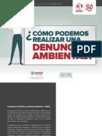 Manual Para Realizar Denuncias Ambientales - SPDA