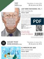 Milky Way Ediciones 6-2016