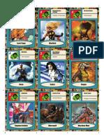 Fate Deck Marvel Saga