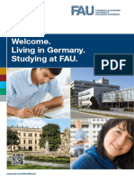 Welcome Studying at Fau