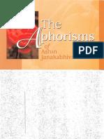 264. The Aphorisms of Ashin Janakabhivmasa