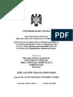 Jose Agustin Vidales Fernandez