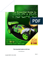 The Essential Guide to RC Cars