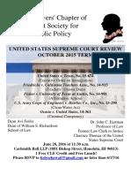 Hawaii Lawyers' Chapter, Federalist Society