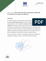 Certificado Prevención Riscos - 2014