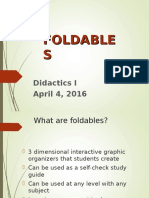 what are foldables