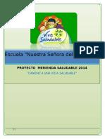 Proyecto de Merienda Saludable