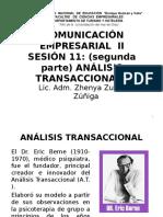 Sesión 11 Analisis Transaccional