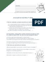 AVALIAÇÃO 7 Serie- III Unidade