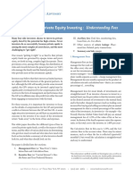 Private Equity Investing Fees
