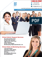 Go Staff - Brochure
