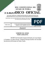 Decreto Luis Banck Serrato