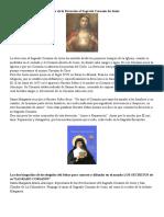Historia de La Devoción Al Sagrado Corazón de Jesús