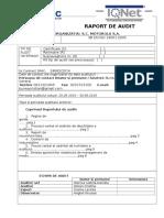Raport Audit CAIC