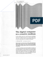 A. M. Noll - The digital computer as a creative medium