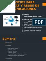 Serv.para Sistemas y Redes de Comunicaciones