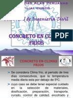 Trabajo de Diseño y Preparacion Del Concreto en Climas Frios