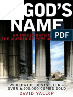 In God's Name by David Yallop