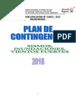Plan de Contigencia 2016