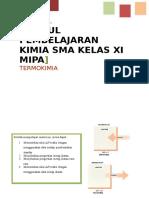 Modul Kim XI Mipa-termokimia