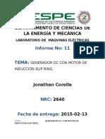 Informe 11 Maquinas electricas