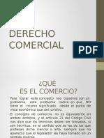 Derecho Comercial, Parte General.