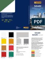 Solvalitt Colour Card