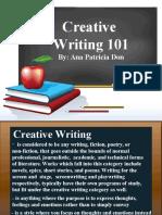 Creative Writiing