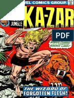 Ka-Zar 12 Vol 1
