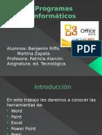 programas informaticos